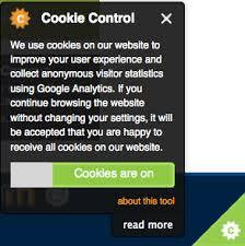 We use cookies