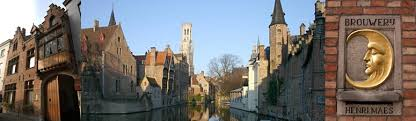 Bruges has piped beer