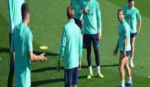 Final training before Bruges: Only two are missing