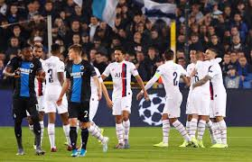 CLUB BRUGGE-PARIS SAINT GERMAIN: 0-5 (RESULT OF THE MATCH)