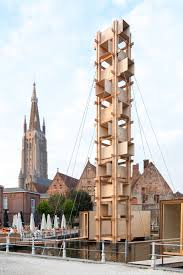Bruges is being invaded by art installations