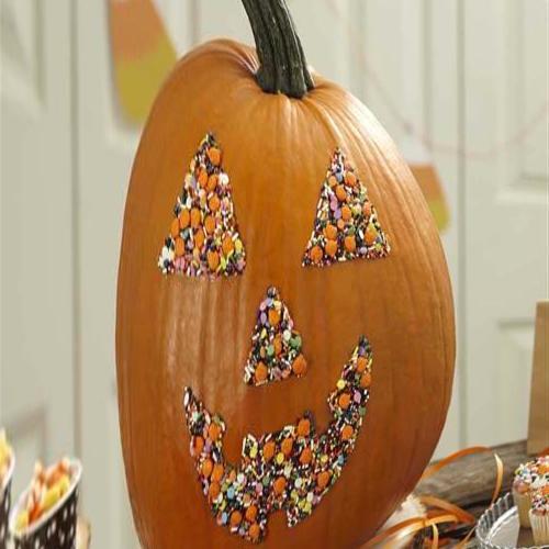 PHOTO: Pumpkin decoration at the Marseille Museum